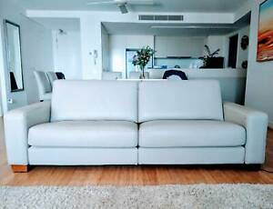 3 Seater Leather Lounge by King Furniture