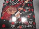 ROD STEWART FOOLISH BEHAVIOR LP WITH INNER SLEEVE 479