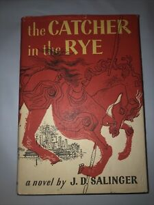 Catcher in the Rye by J.D. Salinger Hardcover w/ Dust Jacket 1951 Edition