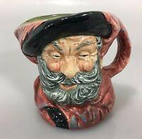 """Royal Doulton Falstaff Toby Jug Mug 3"""" D6385 1949 Made in England"""