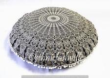 "Indian Floor Pillow Cover Cotton Mandala Large Meditation Cushion Pouf Sham 32"""