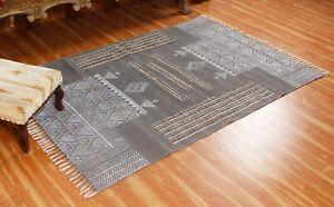 Handmade block Print Area Rugs Tradition Cotton Darrie Yoga Rugs living Room Rug