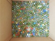Vintage Glass marbles mixed lot of 370+ includes shooters