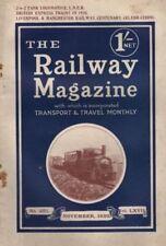 The Railway Magazine Illustrated Monthly Transportation Magazines