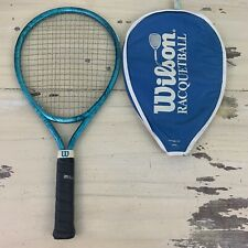 Wilson - Vtg Lady Prestige Light Blue Made In Usa Racquetball Racquet Racket