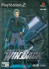Operation Winback Sony Playstation 2 PS2 11+ Action Shooter Game