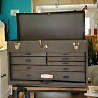 Vintage+7+Drawer+Craftsman+Machinist+Tool+Chest+w%2F+Key