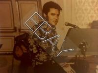 ELVIS PRESLEY ORIGINAL PHOTO THAT'S THE WAY IT IS REHEARSAL OLD KODAK PAPER 130