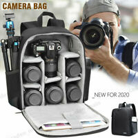 CADeN Camera Bag Backpack for Sony Canon Nikon DSLR Camera Bag D6 Black AU