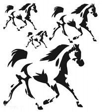 STENCILS CRAFTS TEMPLATES SCRAPBOOKING  MULTI STENCIL - HORSES 20 A4 MYLAR