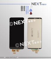 Schermo Display Vetro Touch screen LG G6 H870 nero + kit riparazione