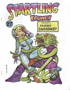 STARTLING ECHOES PRESENTS FADING SHADOWS #27 VOL 5 #5 OCT 1986 PULPS DOC SAVAGE