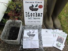 Biochar Soil Improver 1.5kg- KernowBlack - Nutrient/Bacteria Colony Rich