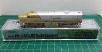 N Scale KATO PA-1 'Santa Fe GOLDBONNET' W/ Factory DCC Item #176-053L-DCC