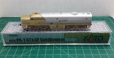 N Scale KATO PA-1 'Santa Fe GOLDBONNET' DCC Ready Item #176-053L