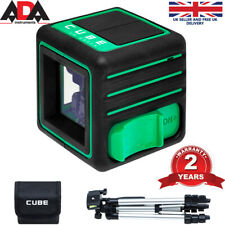 Laser Level Green Self Leveling Cross Line with TRIPOD Complete SET 3D Line ADA