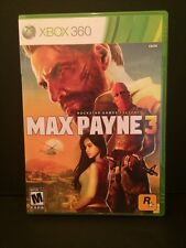 Max Payne 3 Microsoft Xbox 360 2012 Rated M Mature Video Game