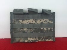 US Military MOLLE TRIPLE RIFLE AMMO MAG POUCH ACU DIGITAL CAMO Army Issue EUC