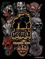Rubber Gorilla Adult Coloring Book : Inspired by the Masks of Neal Harvey by.