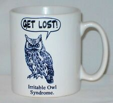 Irritable Owl Syndrome Mug Can Be Personalised Any Name/ Text Funny Gift Present