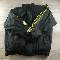 Vintage Green Bay Packers NFL Pro Line Pull Over Winter Starter Jacket Size XL