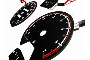 Volkswagen Golf MK2 / Jetta / Scirocco design 1 glow gauges dials plasma dials k