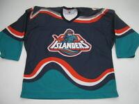 Mens XL New York Islanders CCM Fisherman blue jersey vintage