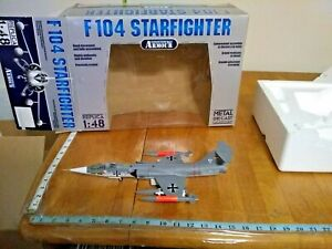 ARMOUR FRANKLIN MINT 1/48 F-104 STARFIGHTER GERMAN MARINE