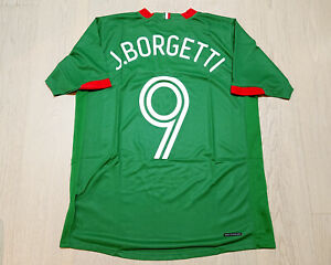Mexico 2006 World Cup Home Football Shirt S/S #9 Jared Borgetti size M