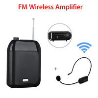 Aporo T9 15W Rechargeable Wired Voice Amplifier Loudspeaker+FM Mic for Training
