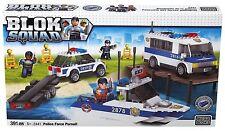 Mega Bloks Blok Squad 2441: force de police poursuite-NEUF