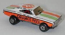 Matchbox Lesney Superfast No. 74 Orange Peel oc14609