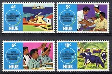 Niue 1972, 25th Anniv South Pacific Commission set VF MNH