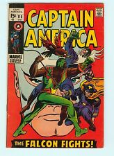 Captain America #118 5.5 FN- 2nd Appearance Falcon Marvel Comics Silver Age