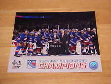 NY Rangers Eastern Champions Officially LICENSED 8X10 Photo FREE SHIPPING 3/more