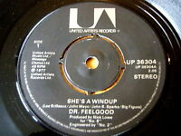 "DR FEELGOOD - SHE'S A WINDUP  7"" VINYL"