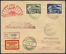 Zeppelin Russia RUSSIA 1931 Polar viaggio REKO-lettera Malygin si 120 AB/172