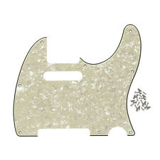 NEW 4Ply Aged Pearl Tele Guitar Pickguard Scratch Plate for Fender Tele Guitar