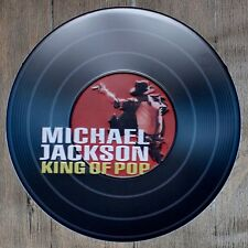 Metal Tin Sign round michael jackson decor Bar Pub Retro Poster 30cm diameter