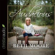 Audacious by Beth Moore (2015, CD, Unabridged)