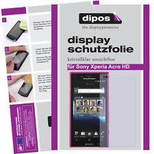 1x Sony Xperia Acro HD Protector de Pantalla protectores transparente