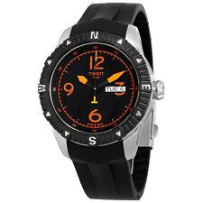 Tissot T-Navigator Black PVD Stainless Steel Mens Watch T062.430.17.057.01