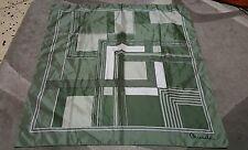 Texture Micaela foulard 75x75 poliestere vintage scarf square woman RARE