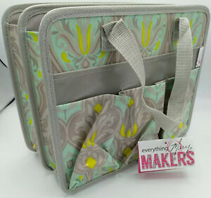 The Everything Mary Makers Tag-Along Tote 12in x 10in x 6in Deluxe Organizer New