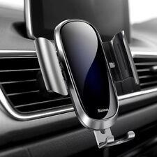 Handyhalterung KFZ Anti-Shake Multi-Winkel Schwerkraft Auto Lüftung f Samsung s9