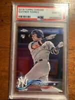 2018 Topps Chrome #31 Gleyber Torres New York Yankees Rookie RC PSA 10 Gem Mint