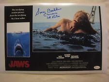 Susan Backlinie Signed JAWS 11x17 Photo Lobby Card - JSA (WP) COA - 2 Ins