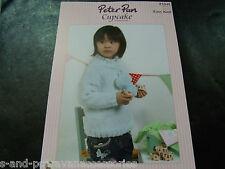 Peter Pan Cupcake Easy Knit Pattern P1040