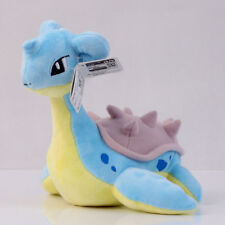Pokemon Center 8 Inch Lapras Stuffed Plush Doll Anime Toy Collectible Kids Gift