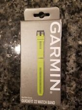 Garmin Quickfit 22 Replacement Watch Band Amp Yellow Slicone